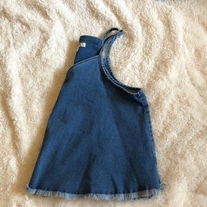 denim tank top